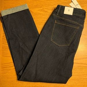 WHBM size 4 Slim Crop jeans